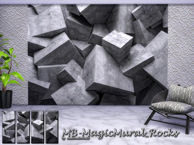 Фотообои для интерьеров Sims 4 со ссылками на скачивание