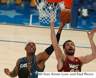 Kevin Love and Paul Pierce NBA