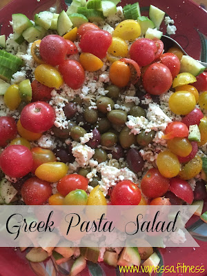 Greek salad, 21 Day Fix, autumn calabrese, clean eating, tosca reno, whole foods, all natural, salad, vanessa.fitness, vanessadotfitness