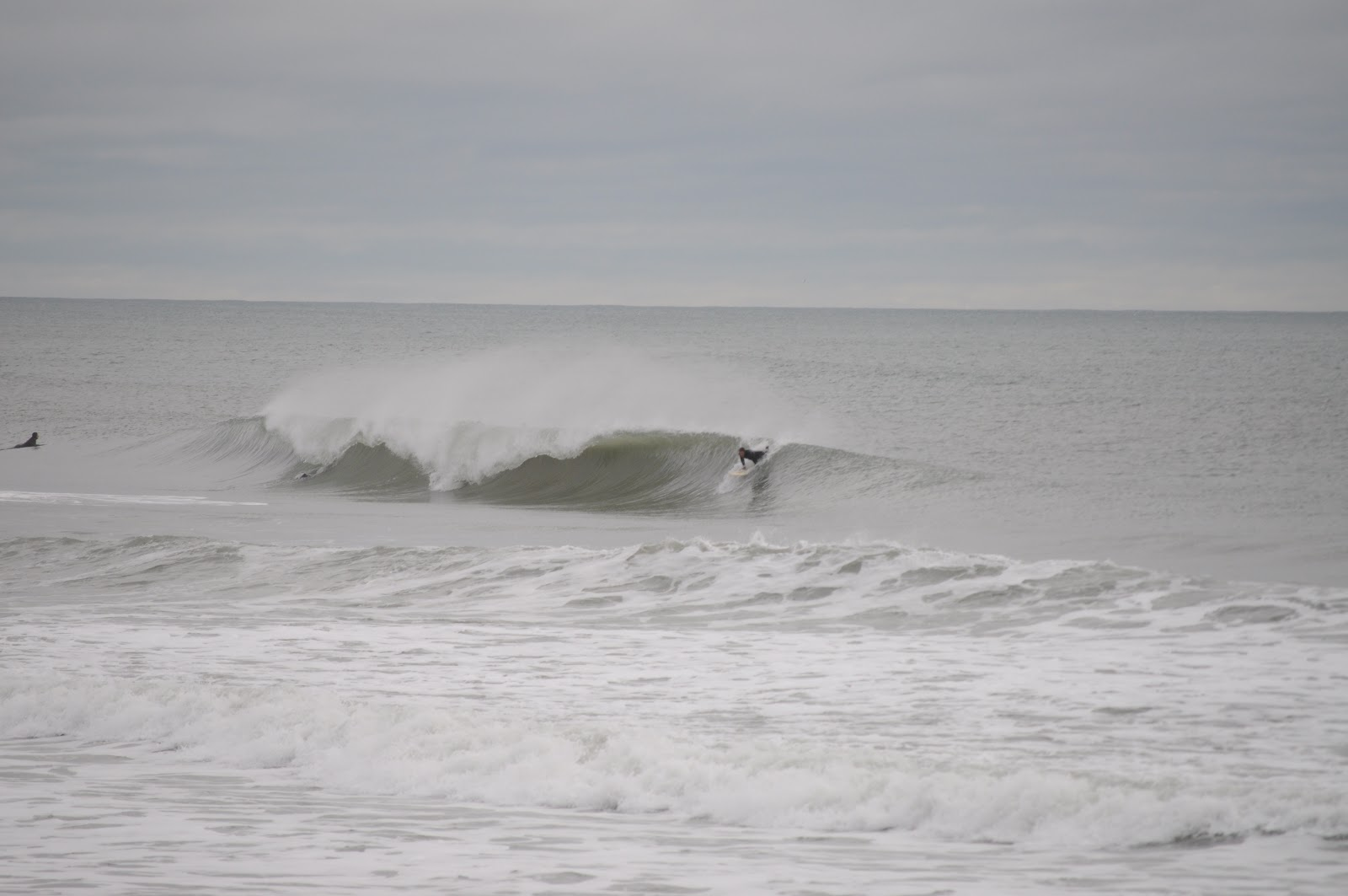 Waves As The Gest Winter Storm Ever Was About To Pound Northeast Since 1978 Anyway Nonetheless Were At Wrightsville Beach For