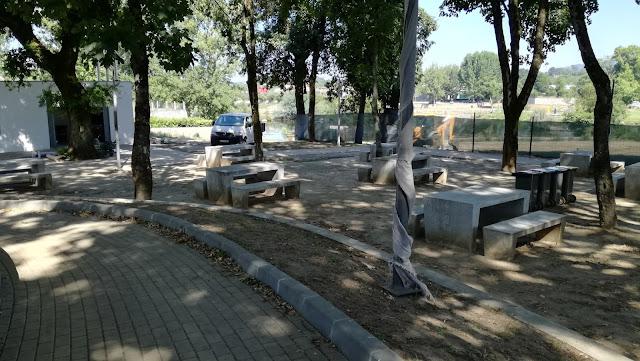 Parque de  merendas da Praiada Ponte do Bico
