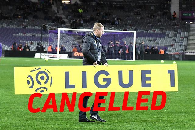 Liga Perancis, Ligue 1 Musim 2019/2020 Ditamatkan Tanpa Juara