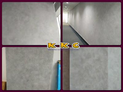 Contoh cat dekoratif dinding motif semen acian