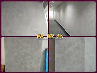Cat Dekoratif Dinding Motif Semen | Wash Paint Cement Expose