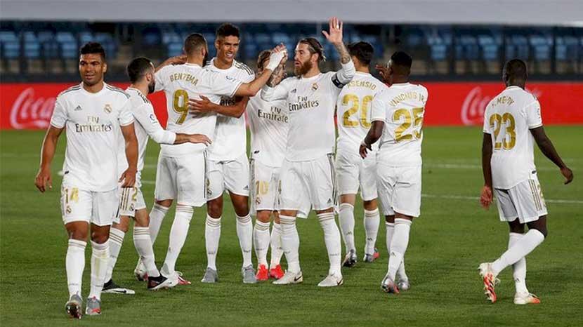 Real Madrid Amankan Tiga Poin usai Kalahkan Real Mallorca 2-0
