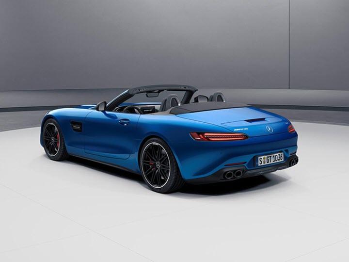 Mercedes-AMG nâng cấp sức mạnh động cơ cho dòng GT