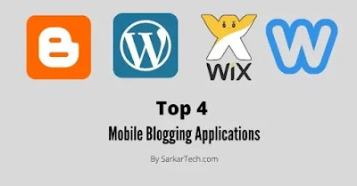 Top 4 Mobile Blogging Applications