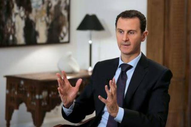 الرئيس السوري بشار الأسد: سوريا تسير علي الطريق الصحيح بعد تحرير جميع المناطق من التنظيمات الارهابية