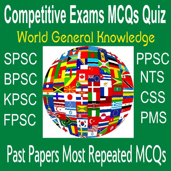 World GK MCQs