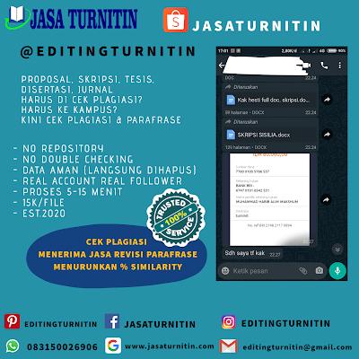 Jasa Mengecek Turnitin No Repository Sulawesi Tenggara