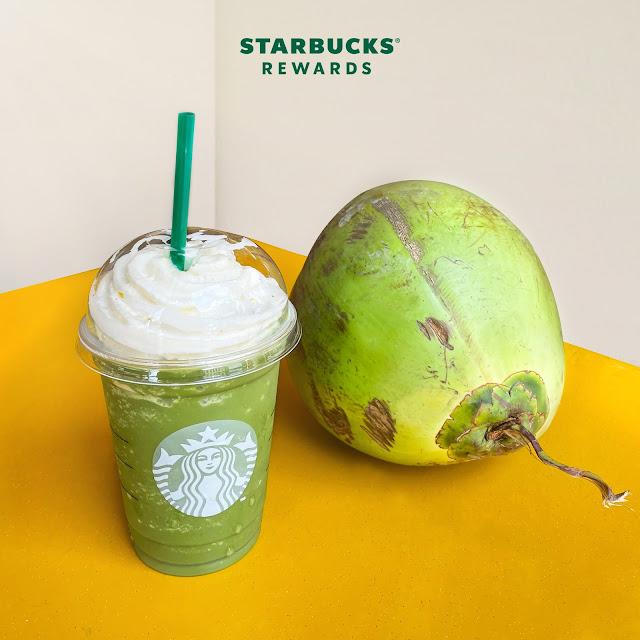 Starbucks Members Day Green Tea Coconut Frappuccino