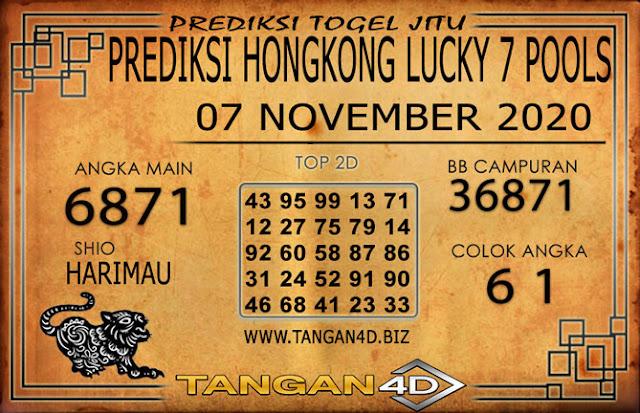 PREDIKSI TOGEL HONGKONG LUCKY 7 TANGAN4D 07 NOVEMBER 2020