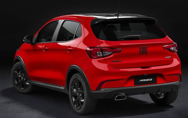 Novo Fiat Argo 2021 HGT