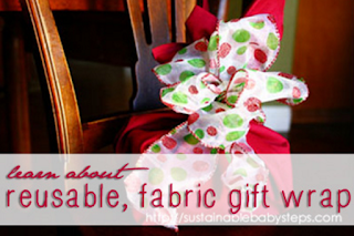 How to make Fabric Gift Wrap