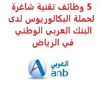 5 وظائف تقنية شاغرة لحملة البكالوريوس لدى البنك العربي الوطني في الرياض يعلن البنك العربي الوطني, عن توفر 5 وظائف تقنية شاغرة لحملة البكالوريوس, للعمل لديه في الرياض وذلك للوظائف التالية: 1- مدير تدقيق تقنية المعلومات (Information Technology Audit Manager): المؤهل العلمي: بكالوريوس في تقنية المعلومات، أمن المعلومات، إدارة الأعمال أو ما يعادله الخبرة: خمس سنوات على الأقل من العمل في منصب إداري في عمليات تدقيق نظم المعلومات, مع فهم جيد لتطبيقات الأعمال والتقنيات أن يكون لديه خبرة عملية في إجراء عمليات تدقيق تقنية المعلومات أن يجيد اللغتين العربية والإنجليزية كتابة ومحادثة للتـقـدم إلى الوظـيـفـة اضـغـط عـلـى الـرابـط هـنـا 2- مسؤول نظام لينكس (Linux System Administrator): المؤهل العلمي: بكالوريوس في تقنية المعلومات، علوم الحاسب، هندسة الحاسب، هندسة الاتصالات أو ما يعادله أن يكون لديه خبرة عمل سابقة كمسؤول نظام Linux. أن يجيد اللغتين العربية والإنجليزية كتابة ومحادثة أن يكون لديه معرفة عميقة بلينكس (RedHat). أن يكون حاصلاً على تدريب عملي على MySQL و / أو MariaDB أن يكون لديه إلمام بإدارة ومفاهيم VMWare و SAN. أن يكون لديه خبرة في البرمجة النصية لـ Shell و / أو Perl و / أو Python أن يكون لديه معرفة قوية بالبروتوكولات مثل DNS و HTTP و LDAP و SMTP و SNMP للتـقـدم إلى الوظـيـفـة اضـغـط عـلـى الـرابـط هـنـا 3- مهندس أول الشبكات والأمن (Senior Network and Security Engineer): المؤهل العلمي: بكالوريوس في هندسة الحاسب، هندسة الاتصالات، هندسة الشبكات أو ما يعادله الخبرة: ست سنوات على الأقل من العمل مع (Cisco Application Centric Infrastructure (ACI) and software-defined-network (SDN)). أن يجيد اللغتين العربية والإنجليزية كتابة ومحادثة للتـقـدم إلى الوظـيـفـة اضـغـط عـلـى الـرابـط هـنـا 4- مدير مشروع أعمال مخاطر المؤسسية (Enterprise Risk Business Project Manager): المؤهل العلمي: بكالوريوس أو ماجستير في علوم الحاسب، إدارة الأعمال، إدارة المخاطر, مع تخصص جامعي في تطوير الأنظمة, أو الشبكات, أو أمن تقنية المعلومات الخبرة: ثماني سنوات على الأقل من العمل في مجال تدقيق تقنية المعلومات, أو أمن المعلومات, أو إدارة المخاطر, أو الأعمال المصرفية الإلكترونية, أو التجارة الإلكترونية للتـقـدم إل