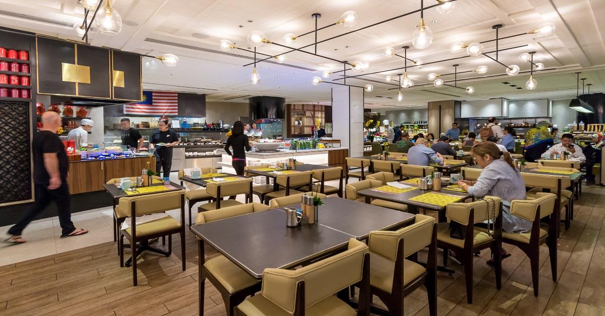 Lemon Garden Restaurant at Shangri-La Hotel Kuala Lumpur