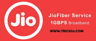 Reliance Jio Fiber Broadband Special offer plans