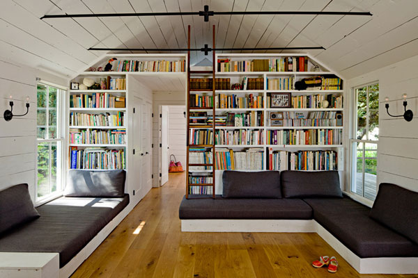Fabulous How To Make A Small Home Library Home Design And Decor Ideas Largest Home Design Picture Inspirations Pitcheantrous