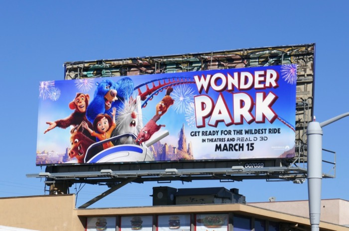 Wonder Park film billboard