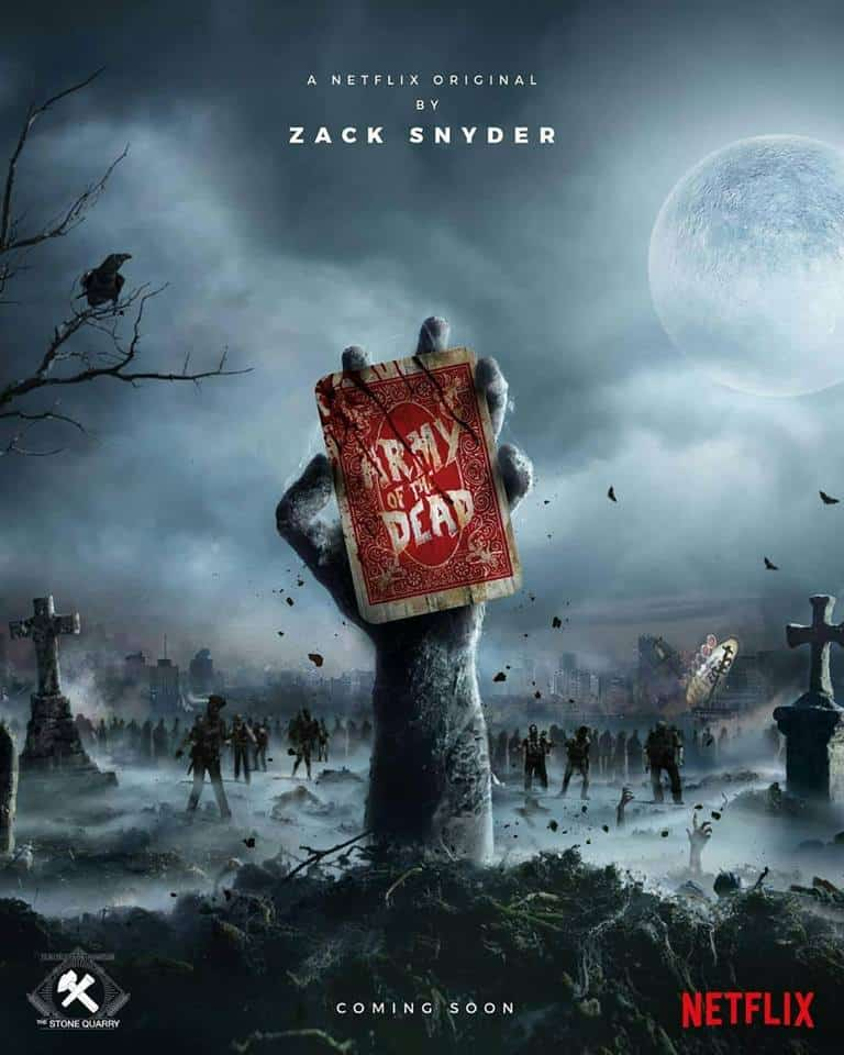 Plakat Army of the Dead od Netflix