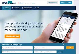 Website jobdb