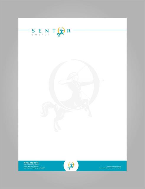 antetli Tasarımı, Enerji, şirket, Logo firma Tasarımları