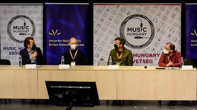 A zeneipar jövőjéről szól a Music Hungary Konferencia Veszprémben
