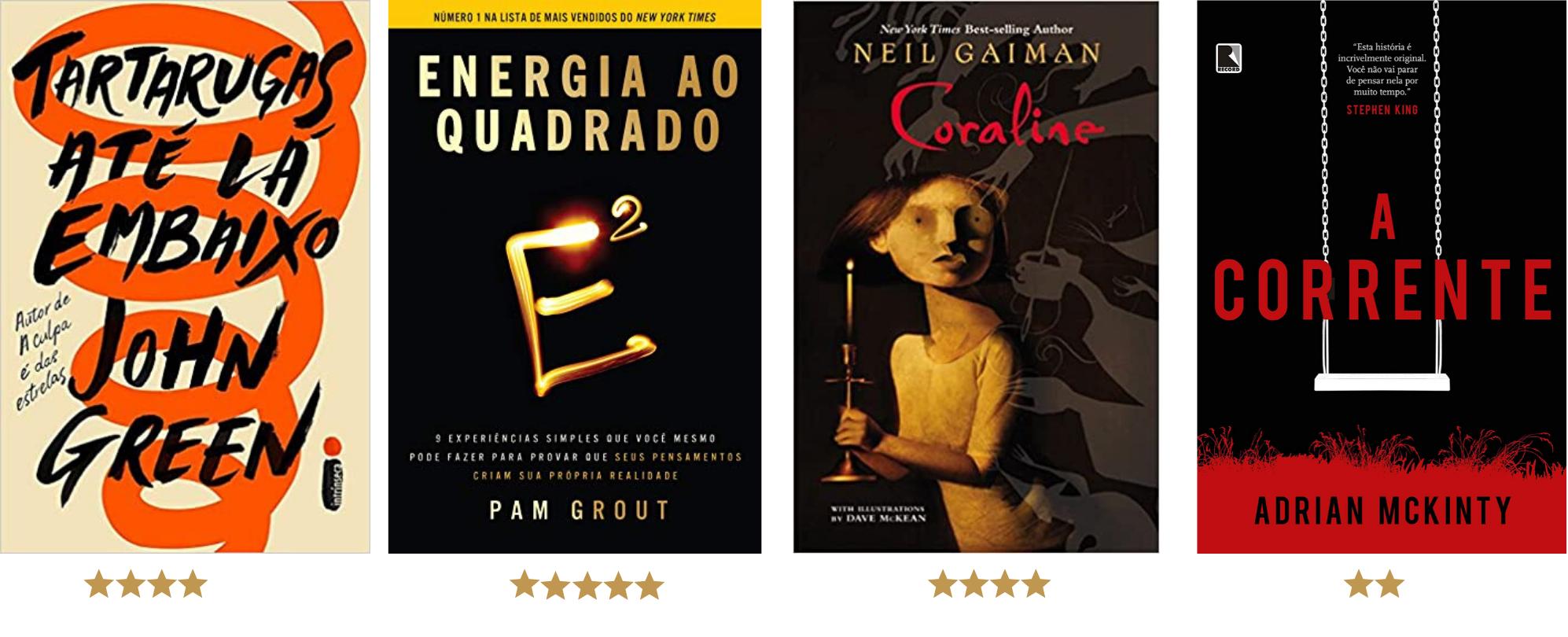 Livros livros em 2020