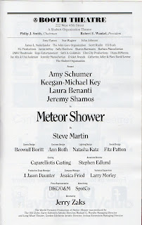 THEATRE'S LEITER SIDE: 130 (2017-2018): Review: METEOR