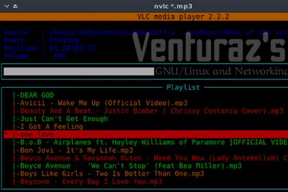 Memutar Music di Terminal Linux Dengan NVLC