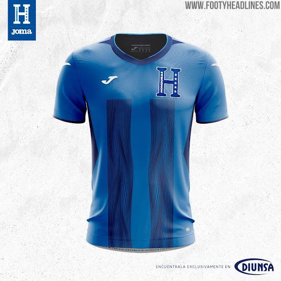 f048f5330 The Joma Honduras 2019 third football shirt has a disruptive design. It s  different