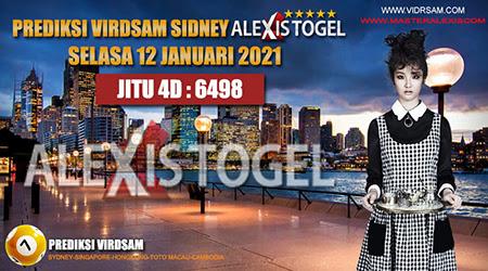Prediksi Virdsam Sydney Selasa 12 Januari 2021