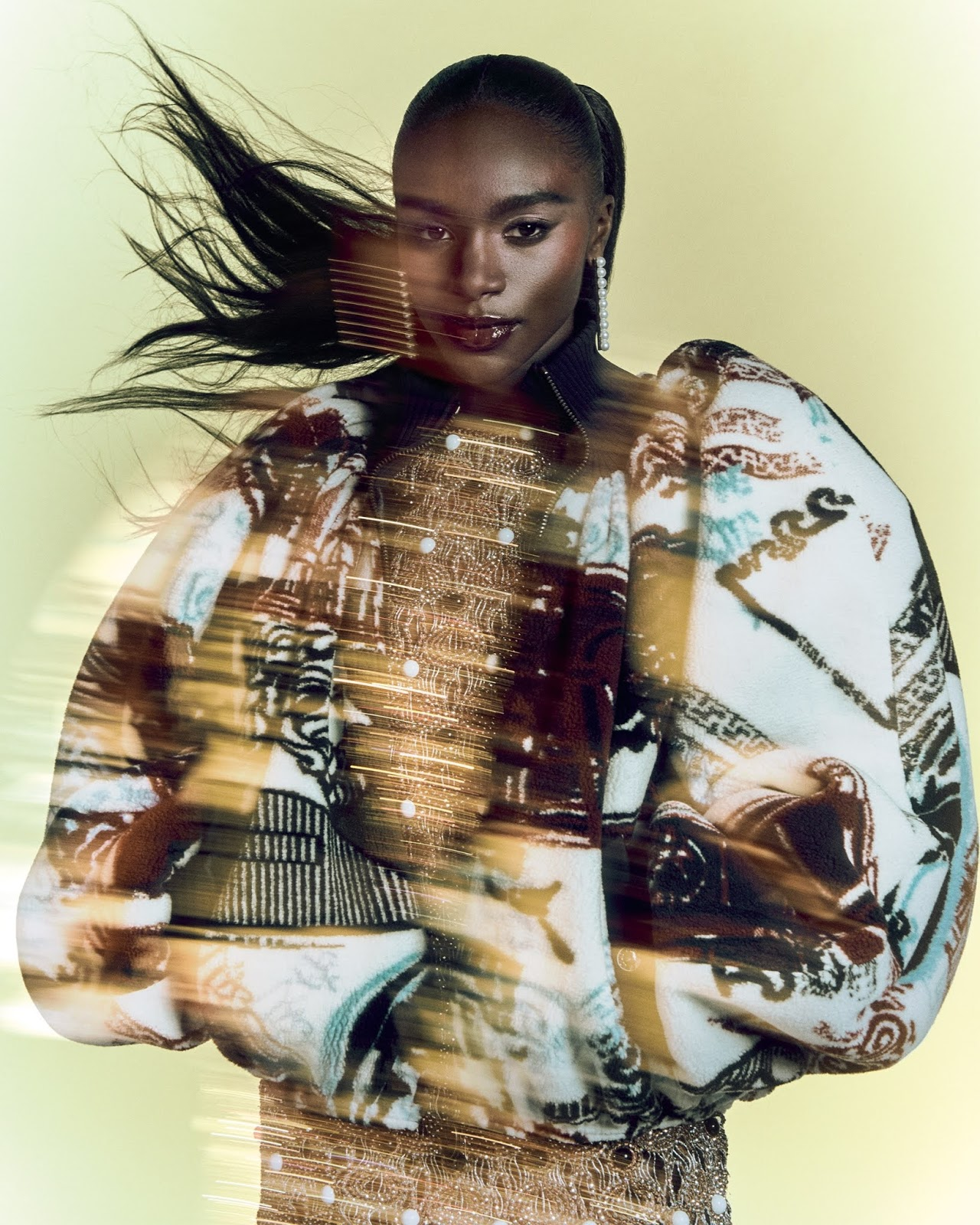 Dina Asher-Smith poses for Vogue UK August 2021