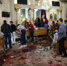 45 Dead From 'Palm Sunday Massacre' In Egypt