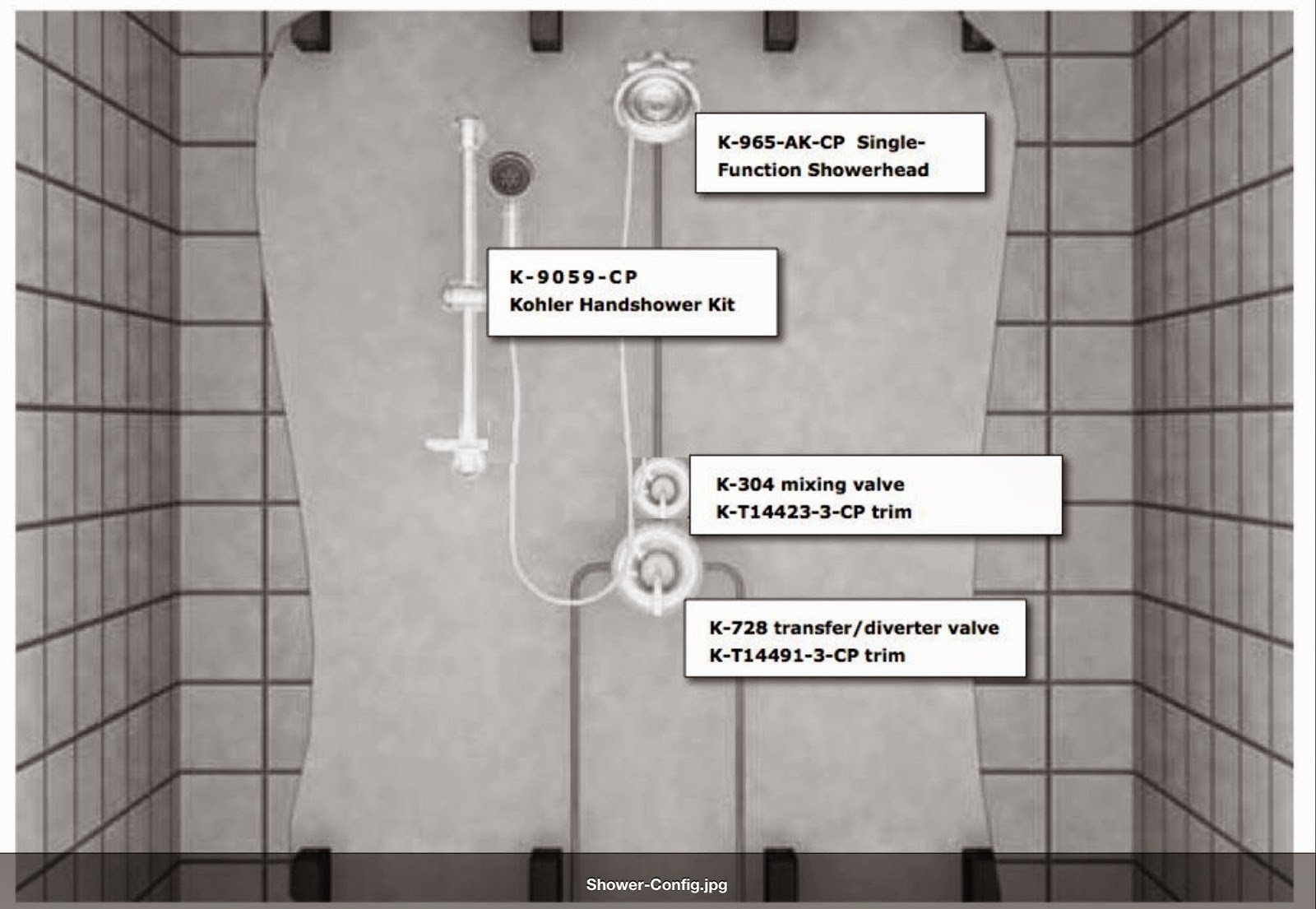 Contemporary Kohler Shower Faucet Installation Crest - Faucet ...