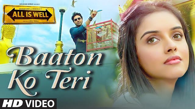 BAATON KO TERI - ARIJIT SINGH Lyrics in Hindi
