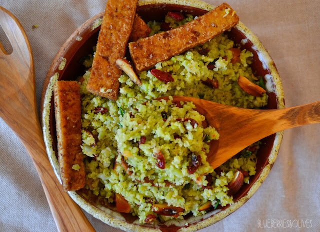 VEGAN CAULIFLOWER COUSCOUS