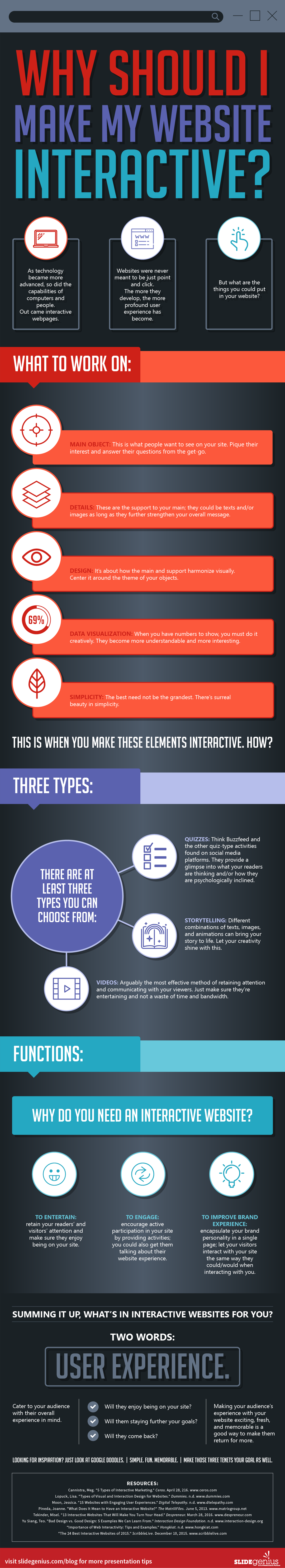 Why Should I Make My Website Interactive? #Infographic
