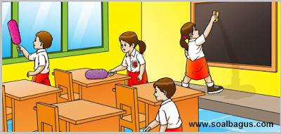 Soal PTS. UTS. MID Kelas 2 Semester 1 Th. 2019. tema 1. kurtilas. edisi revisi. kunci jawaban. pdf. doc. edit. pg. isian. essay.