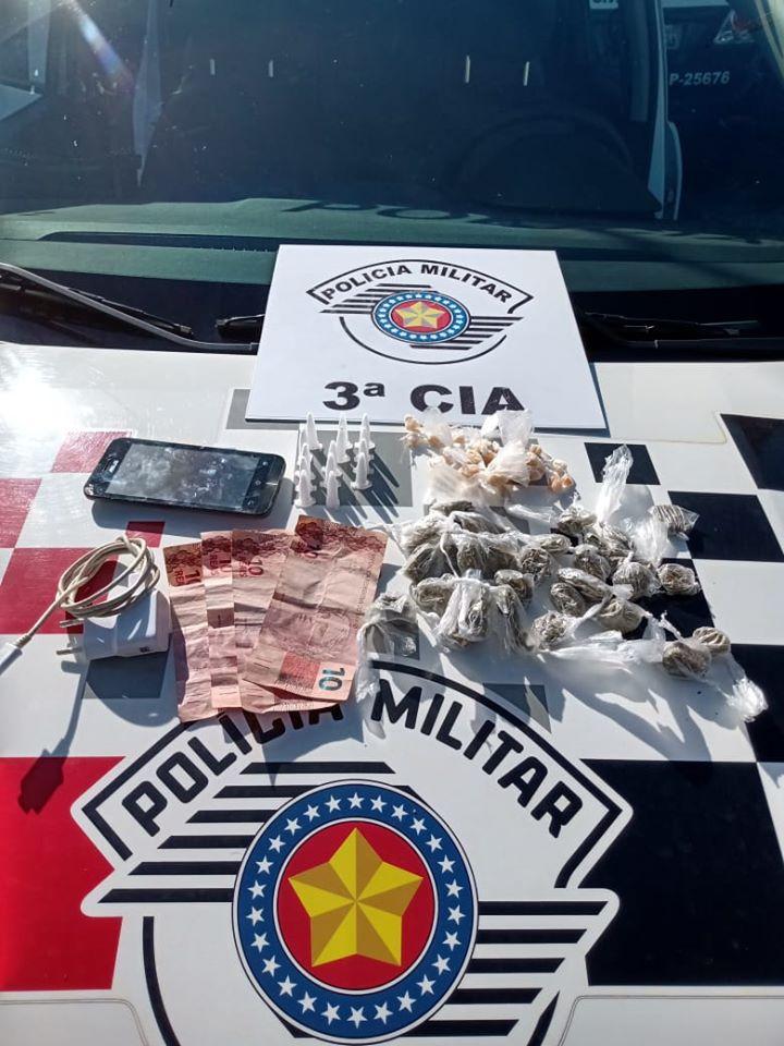 POLÍCIA MILITAR DE IGUAPE APREENDEU UM ADOLESCENTE POR TRÁFICO/ATO INFRACIONAL