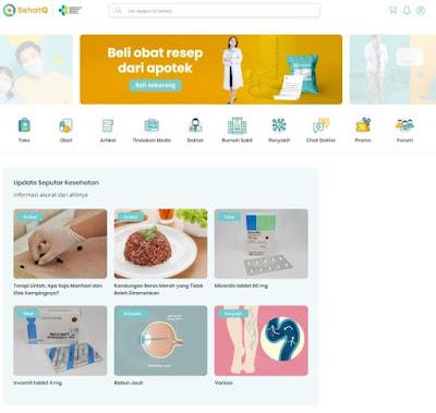 Mudahnya Mendapatkan Informasi Kesehatan di SehatQ.com