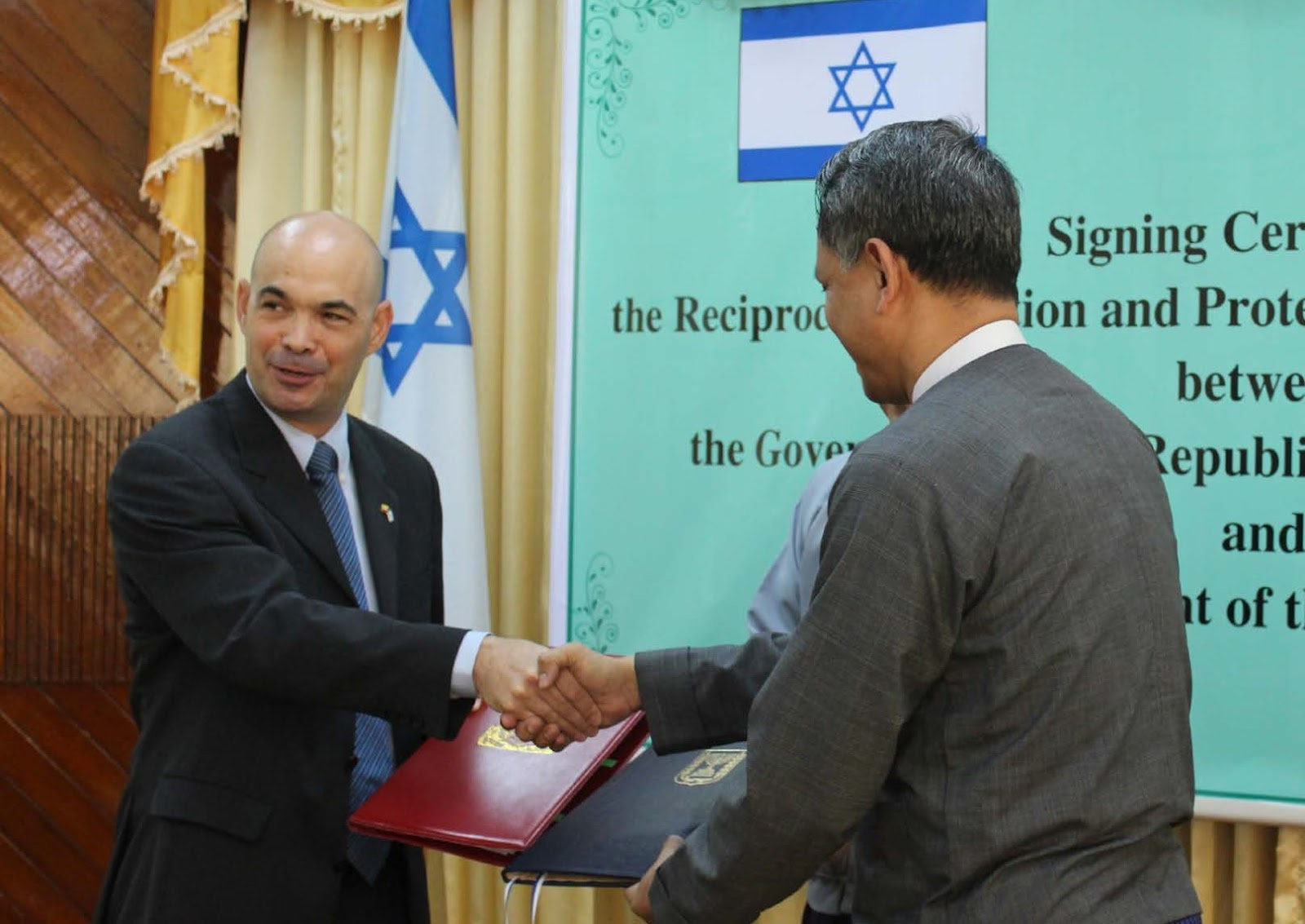 kerjasama Israel dan Myanmar
