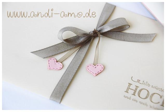 Hochzeit Schleife Herzchen Umschlag andi-amo