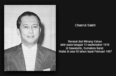 Refleksi Kisah Hidup Chaerul Saleh Sang Pelaku Rengasdengklok