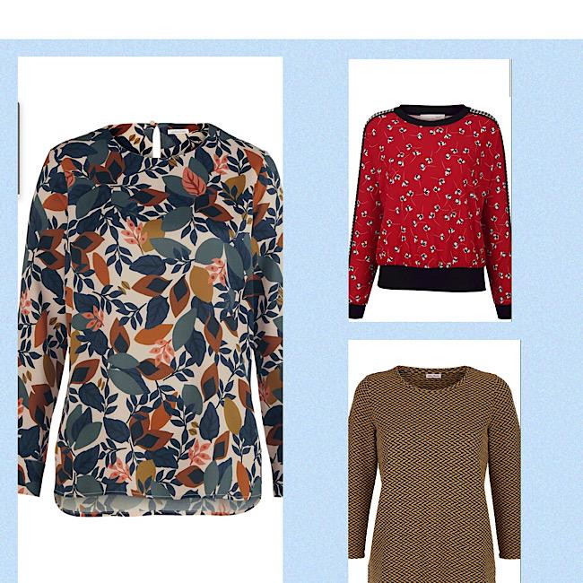 Herbstliche Prints Kleidung