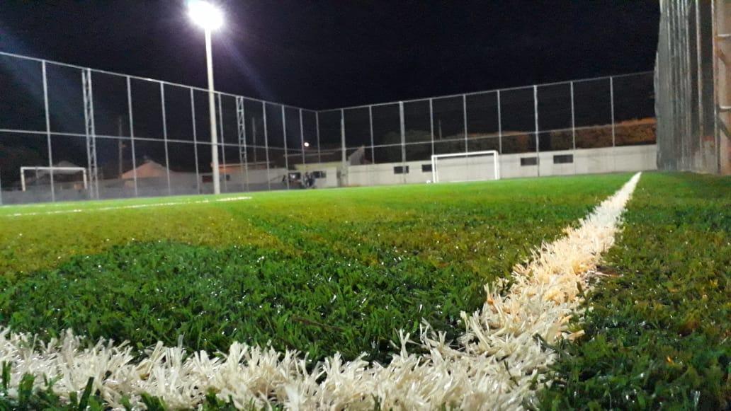 Campo de Futebol Society e Creche são inaugurados em Cajobi