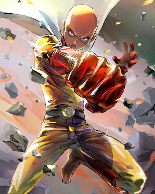 Confira esse Cosplay Feminino de Saitama (One Punch-Man)