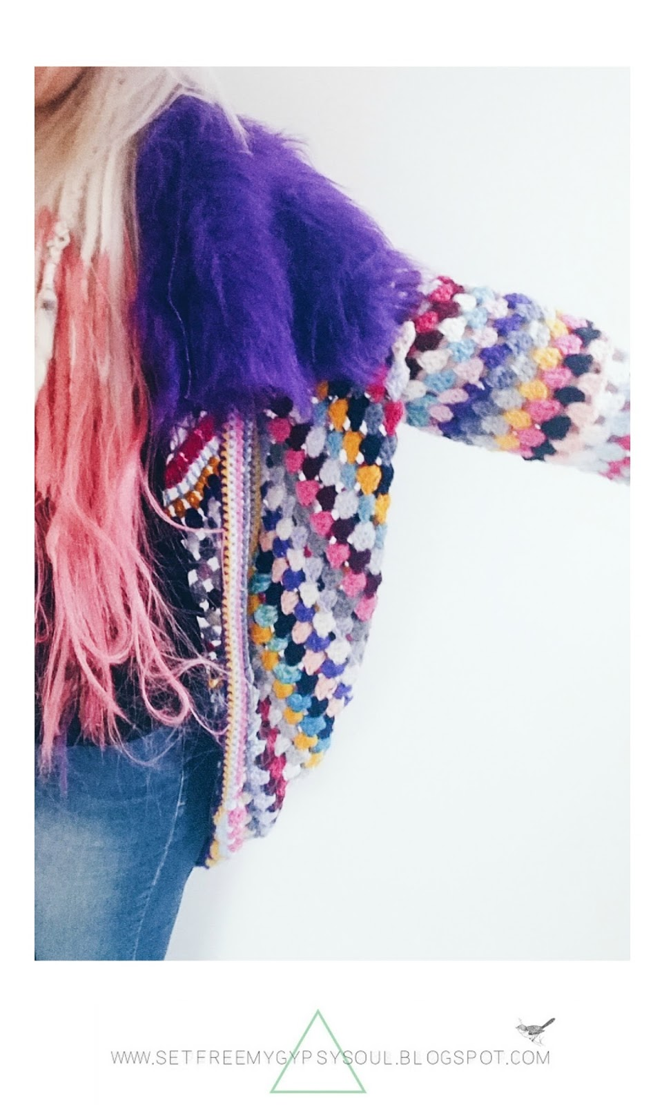 free freeform crochet pattern sugar skull cardigan