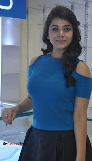 Telugu Actress Yamini Bhaskar Latest Pos in Blue Top and Black Skirt  0018.jpg