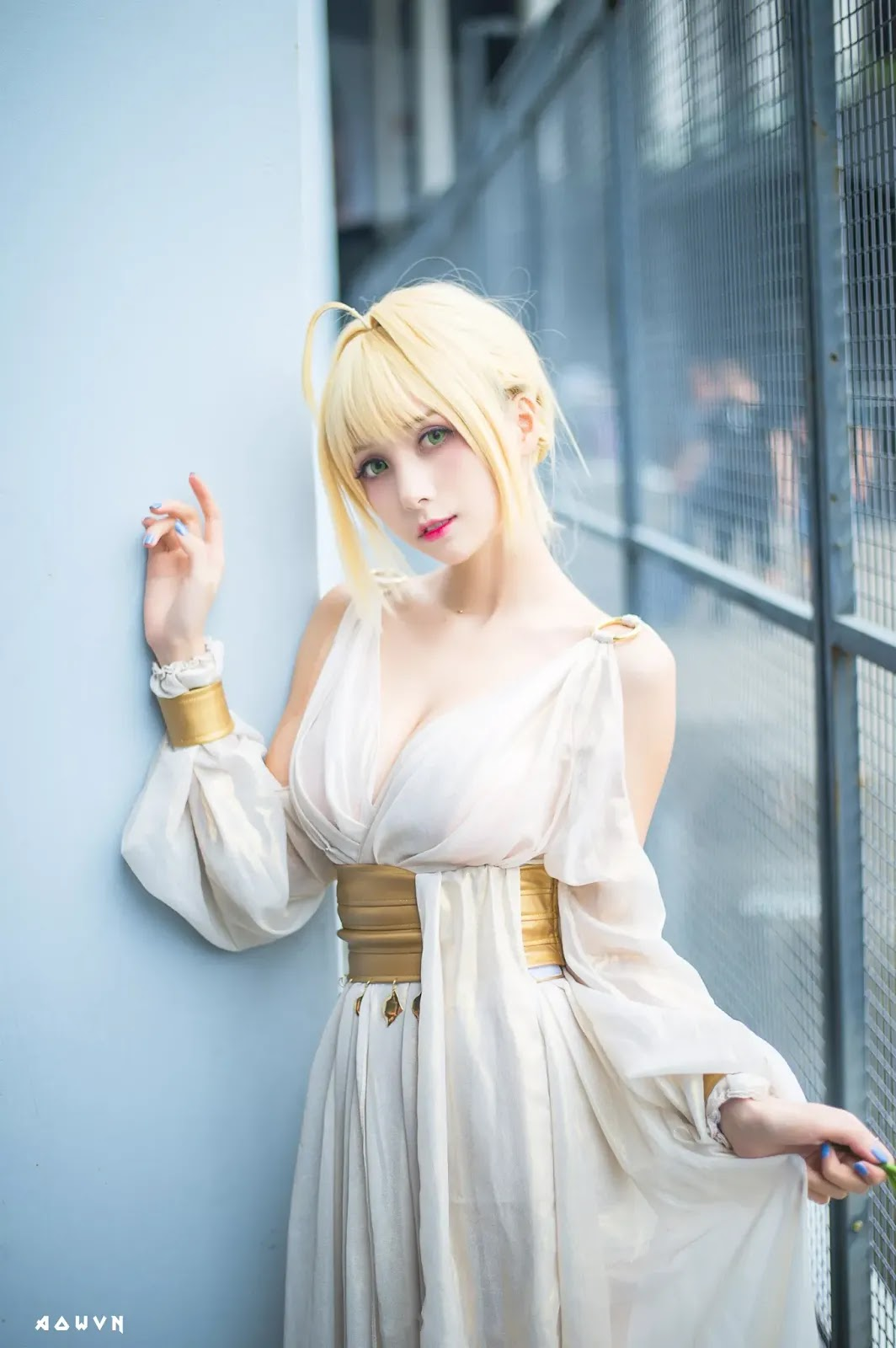 AowVN.org minz%2B%25282%2529 - [ Cosplay ] Nero - Saber anime Fate by Xia Mei Jiang tuyệt đẹp | AowVN Wallpapers